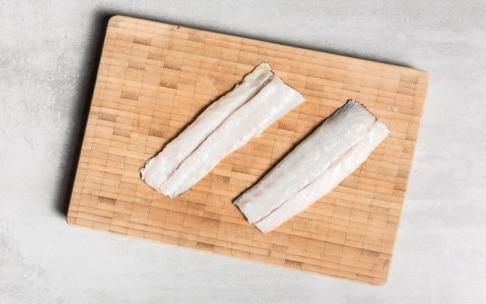Preparazione Filetti di ombrina con salsa al mango e liquirizia - Fase 1
