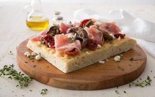 Focaccia gourmet
