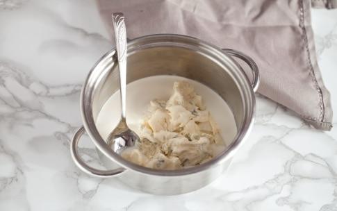 Preparazione Gnocchi al gorgonzola - Fase 1