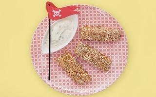 Merluzzo in crosta di quinoa con salsa...