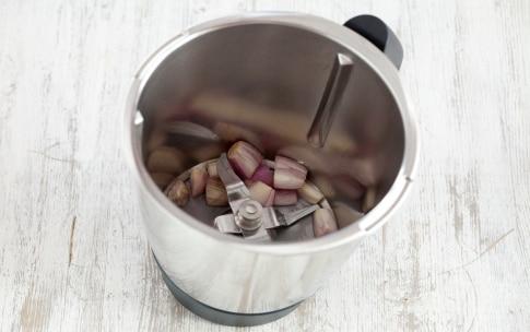 Preparazione Risotto alla zucca con il Bimby - Fase 1