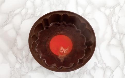 Preparazione Bavarese al cioccolato bianco con gelatina di Kir Royal  - Fase 1
