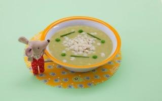Crema densa ai cereali e verdure...