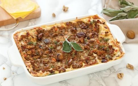 Preparazione Lasagne in bianco - Fase 5