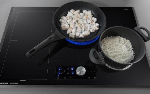 Preparazione Pollo teriyaki con riso basmati e cipollotto fresco - Fase 1