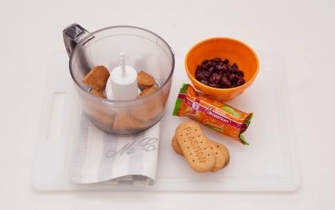 Preparazione Rotolo di biscotti al cioccolato bianco - Fase 1