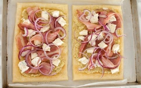 Preparazione Torta salata al gorgonzola e bacon - Fase 3