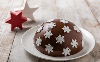 Zuccotto natalizio con ricotta e...