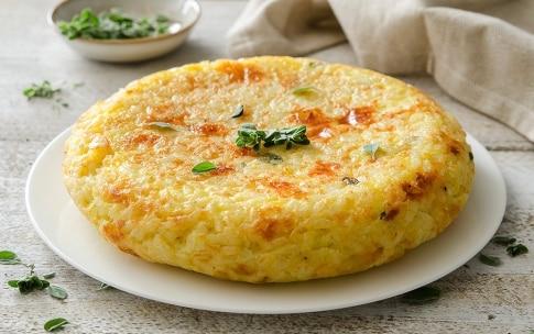 Preparazione Frittata di riso - Fase 4