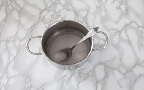 Preparazione Semifreddo al torroncino - Fase 1