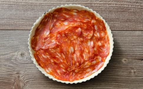 Preparazione Torta salata alla diavola - Fase 2