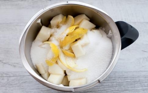 Preparazione Confettura di pere e cioccolato bianco con il Bimby - Fase 1