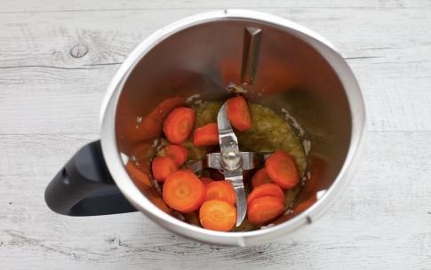 Preparazione Cous cous di verdure con il Bimby - Fase 1