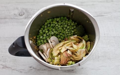 Preparazione Cous cous di verdure con il Bimby - Fase 2