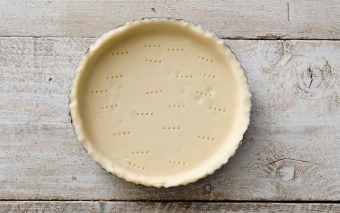 Preparazione Crostata con mascarpone, Nutella e lamponi - Fase 2
