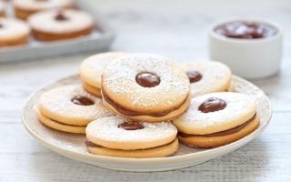 Occhi di bue alla Nutella