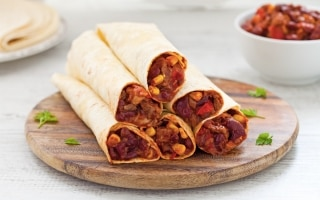 Burrito di carne