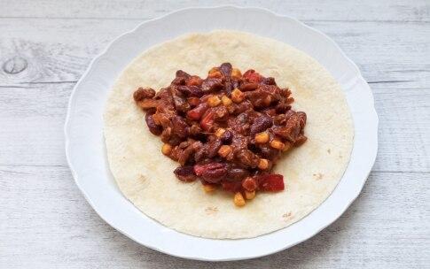 Preparazione Burrito di carne - Fase 4