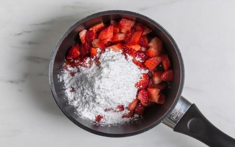Preparazione Cheesecake alle fragole e lime - Fase 6