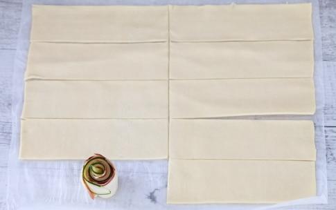 Preparazione Colomba salata di pasta sfoglia - Fase 2