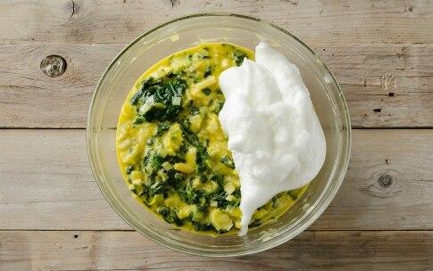 Preparazione Frittata di porri e spinaci al forno - Fase 3
