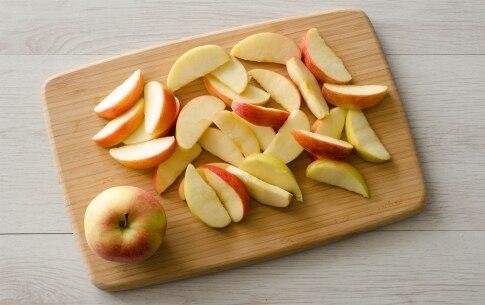 Preparazione Galette rustica con mele e salsa al caramello - Fase 2