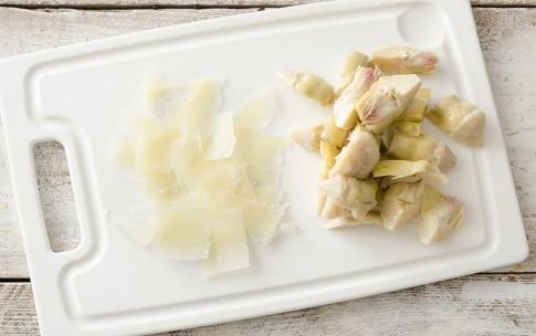 Preparazione Insalata di fave, asparagi e pancetta - Fase 1