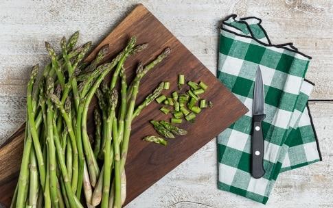 Preparazione Tagliatelle con gli asparagi - Fase 1