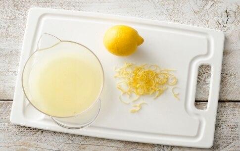 Preparazione Tagliolini al limone e gamberi  - Fase 1