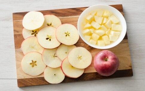 Preparazione Torta di mele con roselline - Fase 1