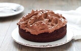 Torta ganache al cioccolato