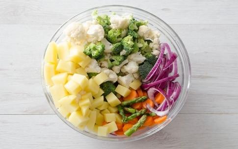 Preparazione Verdure sabbiose - Fase 1