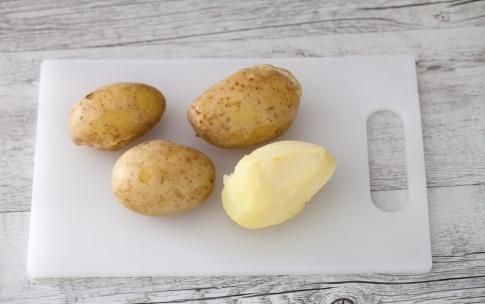 Preparazione Gratin di crepes al prosciutto e fontina - Fase 1