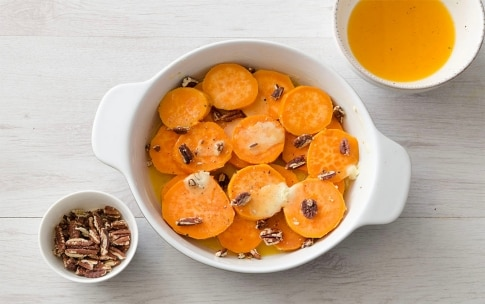 Preparazione Patate dolci al forno con noci pecan - Fase 3