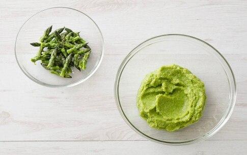 Preparazione Polpette croccanti di asparagi - Fase 1