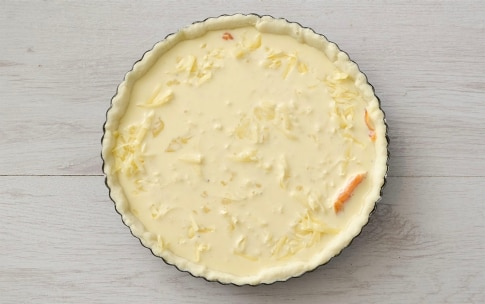 Preparation of Smoked Salmon Quiche - Step 4