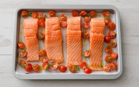 Preparazione Salmone al forno - Fase 1