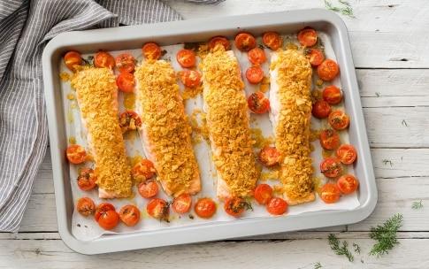 Preparazione Salmone al forno - Fase 3
