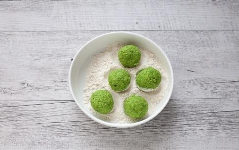 Preparazione Falafel green - Fase 2