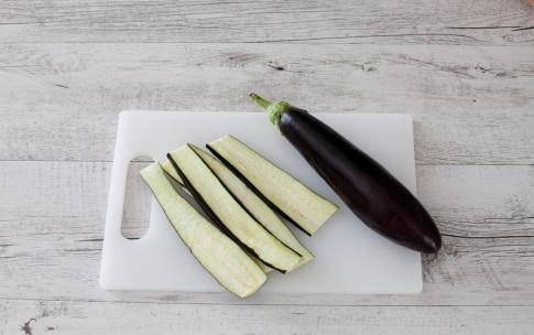 Preparazione Involtini di melanzane e zucchine con speck e mozzarella - Fase 1