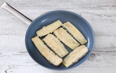 Preparazione Involtini di melanzane e zucchine con speck e mozzarella - Fase 2