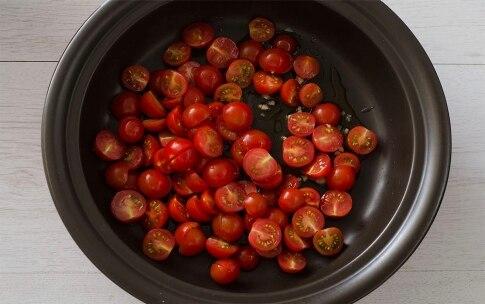 Preparazione Rana pescatrice con pomodorini - Fase 1