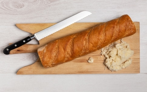 Preparazione Baguette ripiena - Fase 2