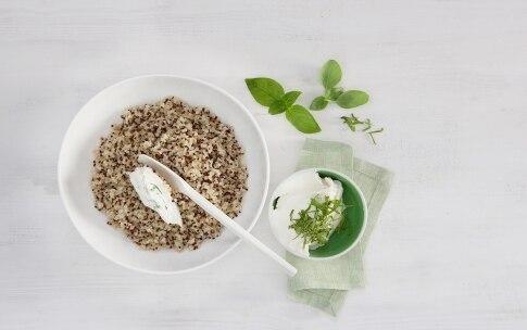 Preparazione Fagottini di bresaola con polpettine ai pinoli e melone - Fase 1