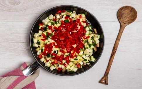 Preparazione Mozzarelle ripiene di verdure estive - Fase 1