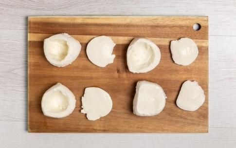 Preparazione Mozzarelle ripiene di verdure estive - Fase 2