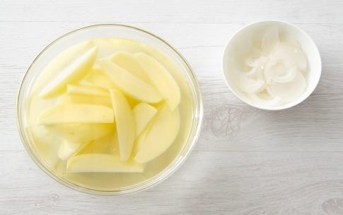 Preparazione Padellata di verdure con crema di peperoni abbrustoliti - Fase 2