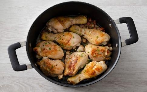 Preparazione Pollo al sidro - Fase 3