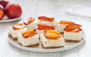 Barrette di cheesecake al cioccolato bianco...