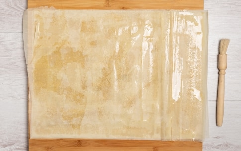 Preparazione Cestini croccanti con mousse di mortadella  - Fase 1